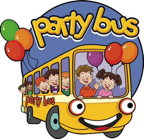 party bus logo kids party bus p4rtybus twitter