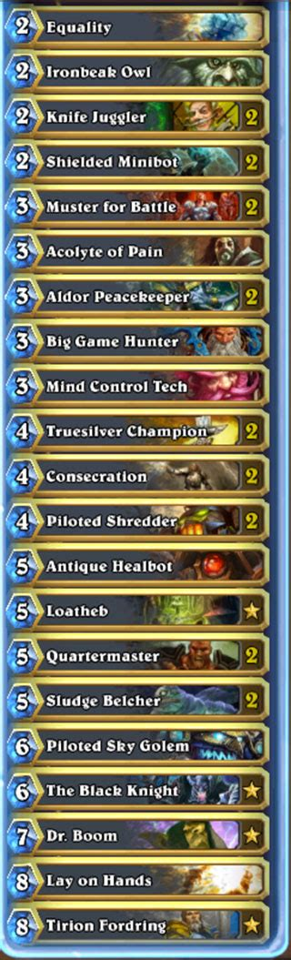 paladin hearthstone deck kft the paladin deck that won 33 in a row blizzard