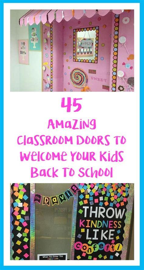 amazing classroom doors    kids
