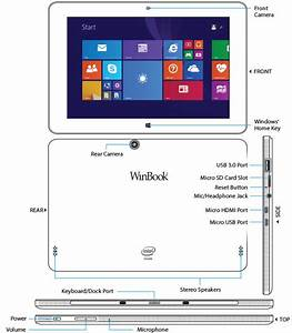 Winbook Tw100 10 1 Tablet - Black 399493