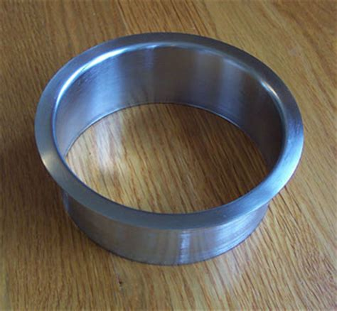 b 5x2 inch brushed stainless steel trash trim ring