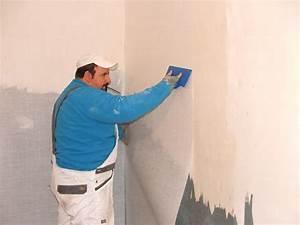 Pose Toile De Verre Plafond : avant apres chantiers fr aide services peinture ~ Melissatoandfro.com Idées de Décoration