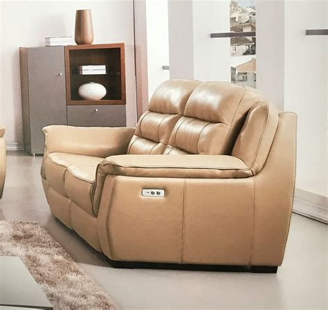 tan leather reclining sofa lago full italian tan leather power recliner loveseat