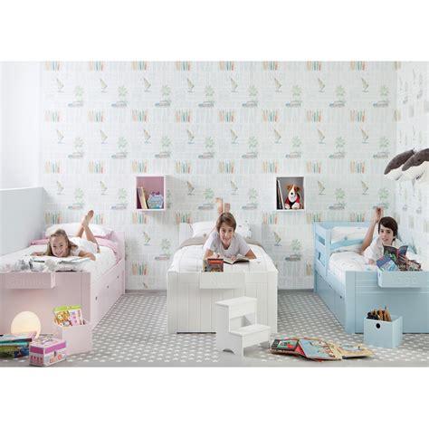chambre 3 enfants chambre 3 enfants avec lits unitaires et rangement asoral