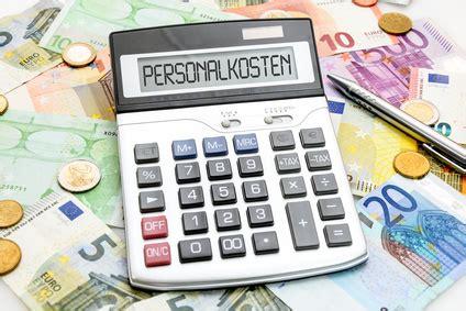 personalkosten stundensatz berechnen stundensatzkalkulation