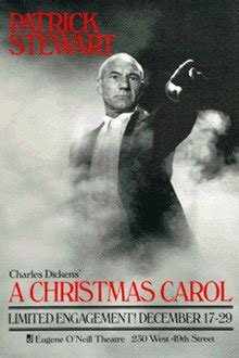 patrick stewart plays a christmas carol play wikipedia