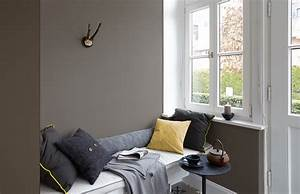 Graue Wandfarbe Wirkung : premium wandfarbe grau dunkelgrau alpina feine farben ~ Lizthompson.info Haus und Dekorationen