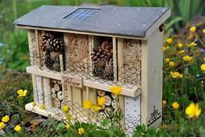 Solarzelle Selber Bauen : luxus insektenhotels solar insektenhotel landsonne mit solarzelle 3 leds und lichtsensor ~ Buech-reservation.com Haus und Dekorationen
