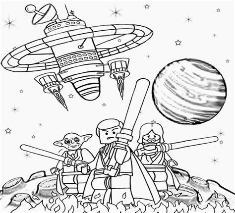 Lego Star Wars Coloring Pages Coloringsuitecom