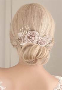 Flower Hair Piece Flower Hair Clip Wedding Hair