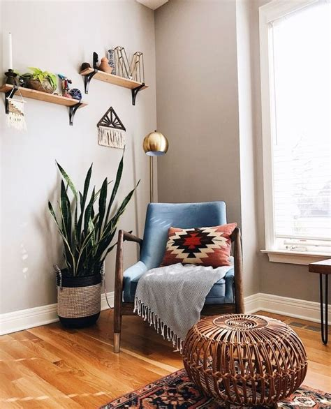 beautiful corner living room decoration ideas boho