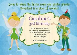 peter pan birthday party invitations dolanpedia With peter pan invitation template