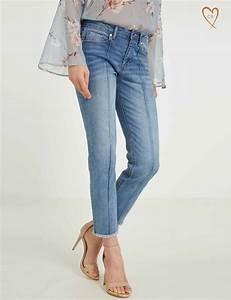 Jean Effiloché En Bas : jean 7 8 bas effiloch morgan jeans morgan ventes pas ~ Dallasstarsshop.com Idées de Décoration