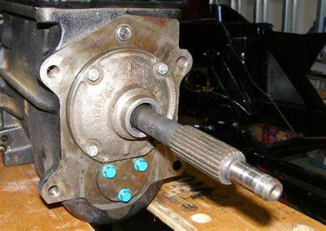 Ford Type Bellhousing Spigot Bushing Modification