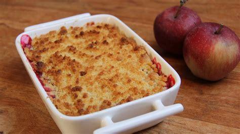 recette de crumble salé recette de crumble aux pommes fastgoodcuisine