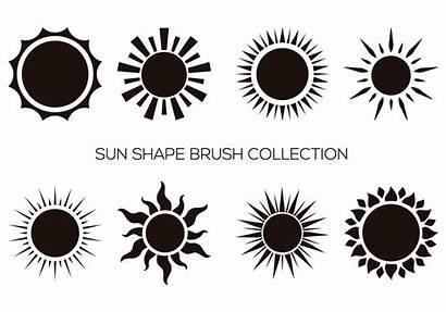 Photoshop Brushes Brush Sun Shape Symbol Shapes