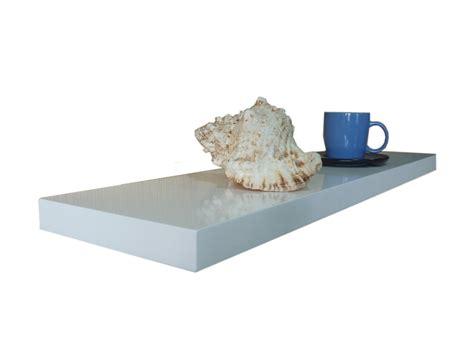White Gloss Floating Shelf 600900 1200x240x38mm