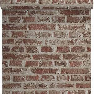 Papier Peint Brique Relief : papier peint papier sur papier lutece duplex brique sabl e ~ Dailycaller-alerts.com Idées de Décoration
