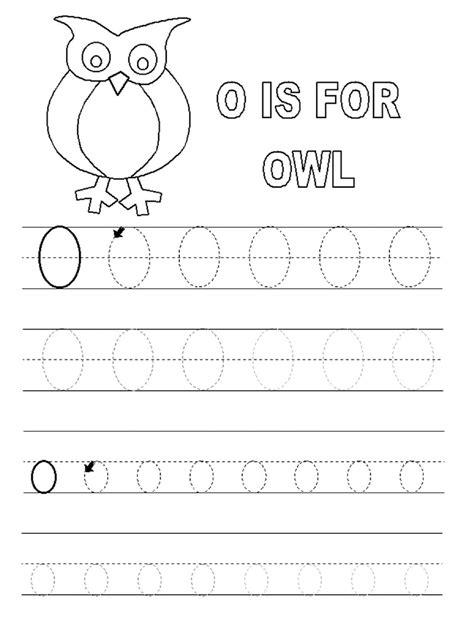 Free Printable Letter O Worksheets For Kindergarten & Preschool
