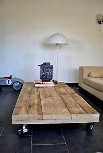 Table Tres Basse : table basse en palette maj 2018 50 id es originales et ~ Teatrodelosmanantiales.com Idées de Décoration