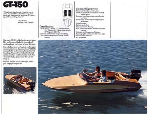 Glastron Race Boats by Bond Glastron Boats Glastron Gt 150 For Sale