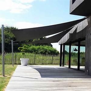 Toile Pour Terrasse : voile d 39 ombrage tendance marine ~ Premium-room.com Idées de Décoration