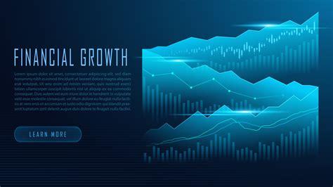 Stock market or forex trading graph in graphic concept ...