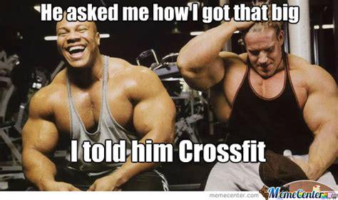 Muscle Woman Meme - best mocking crossfit memes on the internet