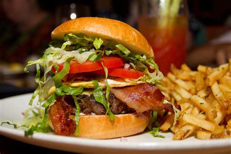 usa cuisine fancy hamburgers