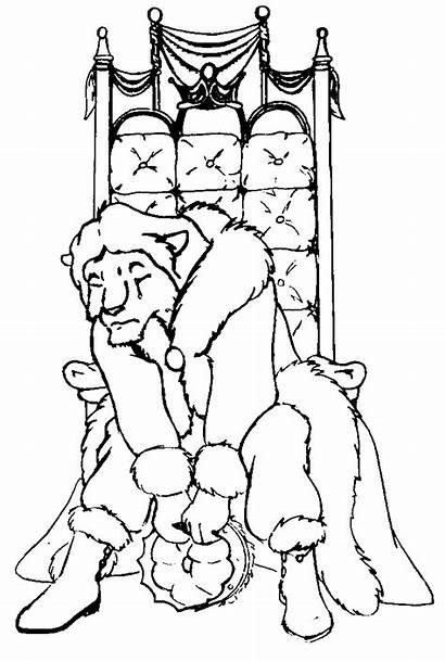 Throne King Drawing Crown Sitting Artists Furry