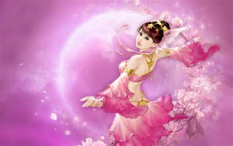 game moon shadow legend asian girl oriental dance