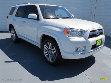 2013 blizzard white pearl toyota 4runner limited 71010060 13 gtcarlot car color