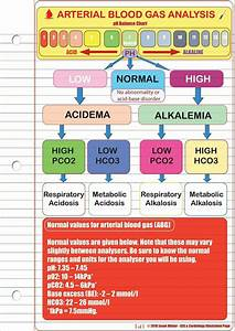 Arterial Blood Gas Analysis Ph Balance Chart