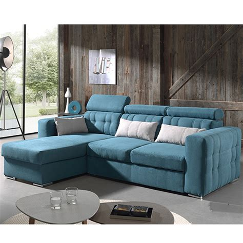 canapé turquoise beautiful canape bleu convertible images design trends