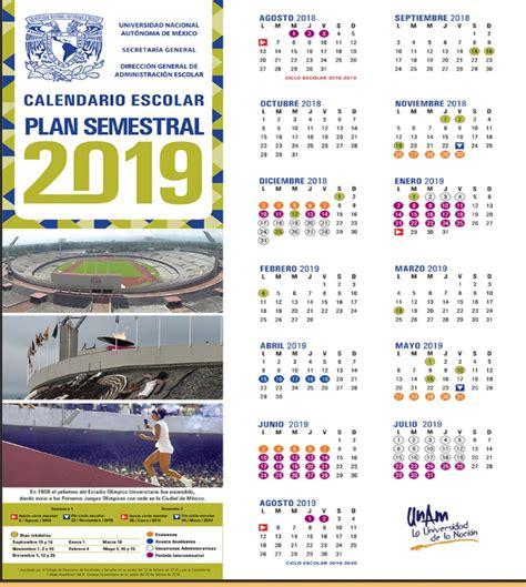 calendario oficial unam