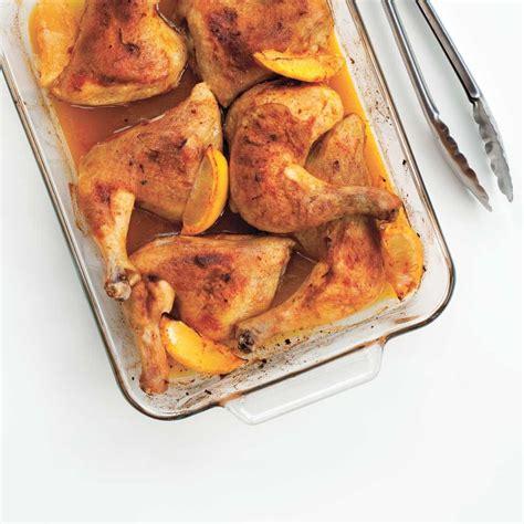 cuisine asiatique poulet cuisses de poulet au citron et au paprika ricardo