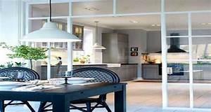 Petite Verrière Intérieure : la verri re int rieure se fait d co dans la cuisine ~ Zukunftsfamilie.com Idées de Décoration