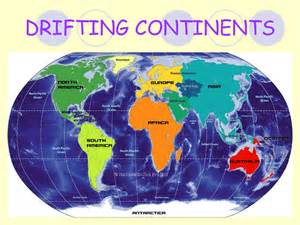 7 Continents of the Continental Drift