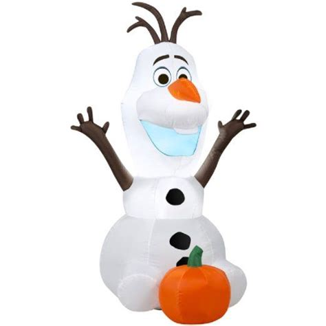 disney frozen olaf  foot halloween inflatable blow