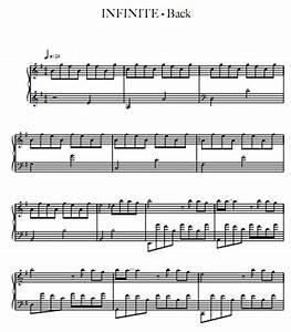 INFINITE - Back钢琴谱 - 找教案