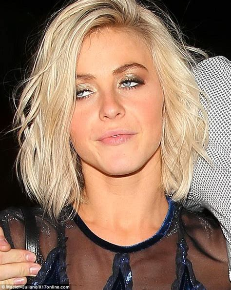 Julianne Hough Suffers A Nip Slip And Nearly Tumbles