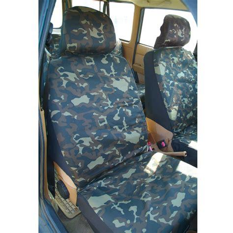 housses sieges voitures ducatillon set housses de voiture camouflage chasse