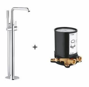 Robinet Baignoire Ilot : robinet baignoire ilot grohe essence ~ Nature-et-papiers.com Idées de Décoration