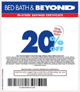 Bed Bath And Beyond Coupon Online Gallery
