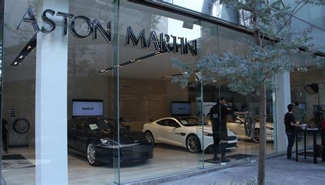 aston martin dealership new aston martin dealership in mexico open for business