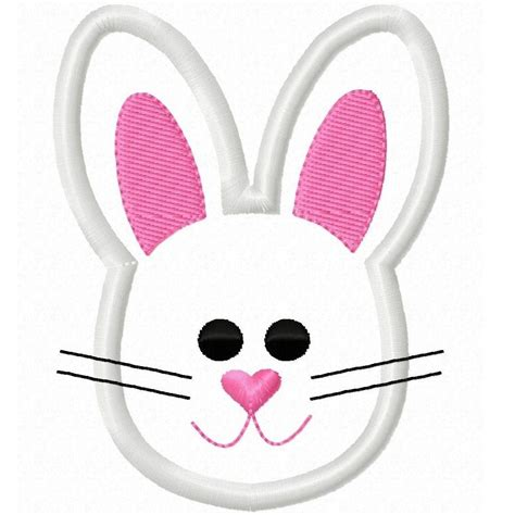 easter bunny face clipart easter day pinterest bunny