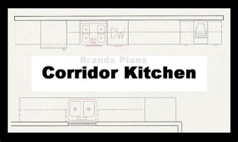 galley kitchen layout plans kitchen island breakfast accommodate cabinetsgalley 3709