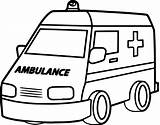 Ambulance Coloring Drawing Truck Fire Pages Semi Emt Printable Wecoloringpage Sheets Clip Vehicles Clipartmag Butterfly Games sketch template