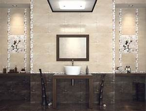 Carrelage Et Salle De Bain : carrelage de salle de bains 57 id es pour les murs et le sol salle de bain bathroom tiles ~ Melissatoandfro.com Idées de Décoration