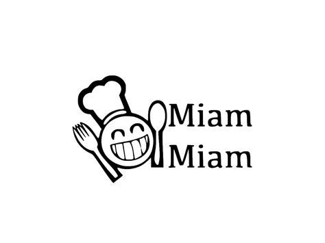 largeur cuisine stickers miam miam